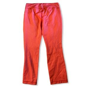 Lululemon Leggings Size 8 Pink/ Orange